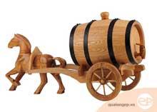 Thùng đựng rượu vang bằng gỗ sồi cao cấp