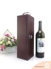 Hộp đựng rượu vang bằng da - Phụ kiện rượu bạn không thể bỏ qua