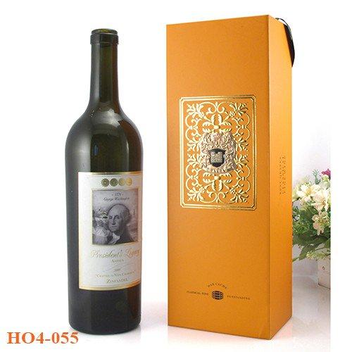 Qùa tặng hộp đựng rượu giấy – Món quà thể hiện đẳng cấp  doanh nghiệp