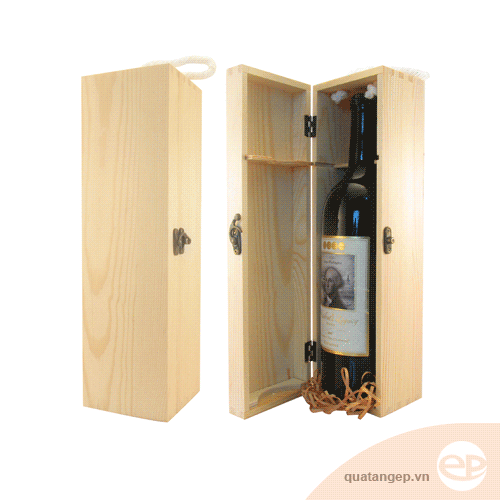 Hộp rượu gỗ 01