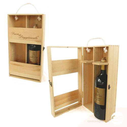 Hộp rượu gỗ 10