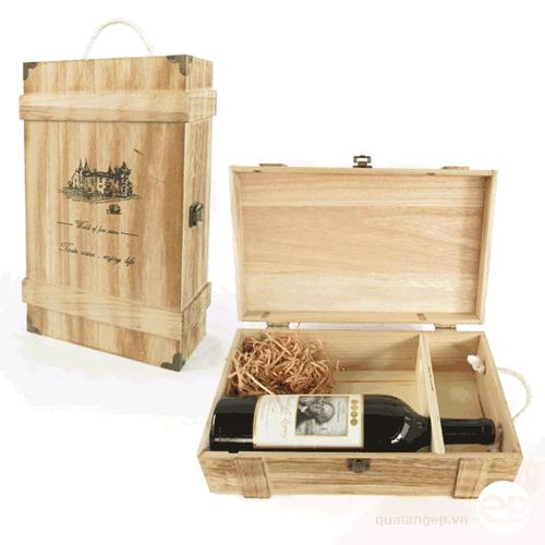 Hộp rượu gỗ 11