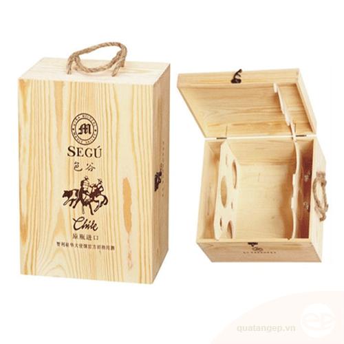 Hộp rượu gỗ 21