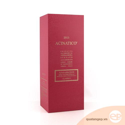 Hộp rượu giấy Acinatico
