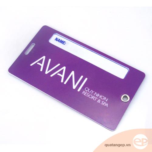 Thẻ đeo hành lý Avani